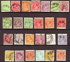 OLD  COMMONWEALTH OF AUSTRALIA   USED == 24 == + 1 MINT  UNSORTED