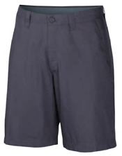 NEW Columbia Men's Lightweight 100% Cotton Washed Out Shorts Size 38