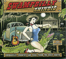 SWAMPBILLY SHINDIG - 2 CD BOX SET, ROCKABILLY, COUNTRY  SOUL FROM THE DEEP SOUTH