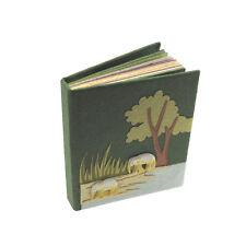 El comercio justo Pequeño Elefante estiércol Pocket Notebook Verde