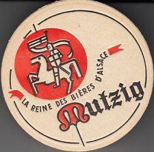 """SOUS BOCK ANCIEN """"MUTZIG / LA REINE DES BIERES D'ALSACE"""""""