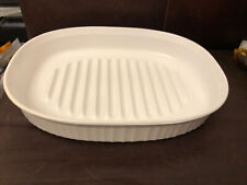 More details for corning ware mc-4-b roaster 2.5 liter oval made in usa