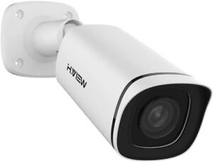 H.VIEW 4K IP POE Camera H.265 8MP Surveillance Camera with 2.8mm Fixed Lens,