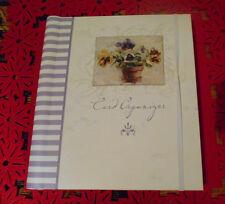 EXCLUSIVE GREETING CARDS ORGANIZER& ADDRESS BOOK - DAYSPRING