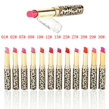 12Pcs/set Lot Leopard Long Lasting Rouge à lèvres Maquillage Lip Gloss Lip Rouge