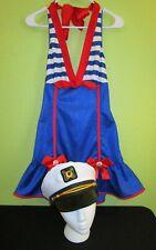⚓ Lady Sailor Scoops Ahoy Halloween Costume by Leg Avenue Size MEDIUM 8-10 ⚓