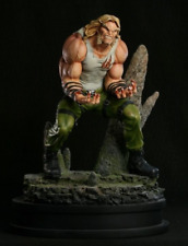 SABRETOOTH STREET CLOTHES VARIANT STATUE BY BOWEN DESIGNS (FACTORY SEALED, MIB)