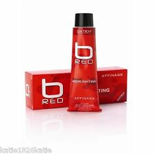 AFFINAGE B RED COLOUR HIGHLIGHTING CREME 100ml  DATEM TECHNOLOGY  COPPER