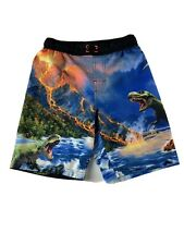 AMIYAN Boys Swimming Shorts Multicolour Multicoloured