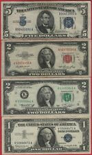 US Currency Lot - Old Paper Money - Various Banknotes - Lot#CU16