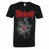 Official Slipknot T Shirt Mens Shatter Top Tee Tshirt