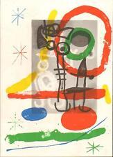 JOAN MIRÓ ORIGINAL Lithografie - Sternzeich.:Jungfrau - Werkverz.:Maeght Nr. 363