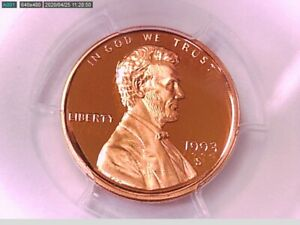 1993 S Lincoln Memorial Cent PCGS PR 69 RD DCAM 32903370