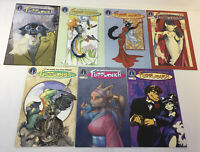 lot of 7 Radio Comix FURRLOUGH #120 123 124 125 130 138 161