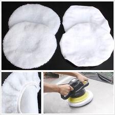"""4 pcs voiture polissage bonnet tampon tampon de polissage éponge housses pour 9-10"""" polisseuse"""