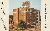 (K) Columbus, GA - The Hotel Ralston - Exterior and Grounds - Street Corner View