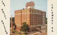 (K) Columbus, GA - The Hotel Ralston - Exterior and Grounds - Street Corner View