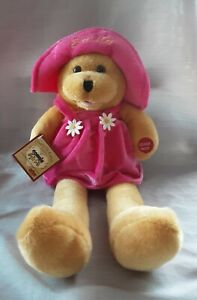 """Chantilly Lane Musical Bear Connie Girl Connie Talbot Collection Sings """"Smile""""!!"""