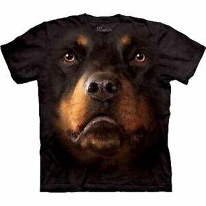 The Mountain Rottweiler Dog Face T-shirt
