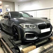 GLOSS BLACK KIDNEY GRILL FOR BMW 1-SERIES LCI F20 M135i M140i 125i 118 ( 2015-UP