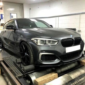 GLOSS BLACK KIDNEY GRILL FOR BMW 1-SERIES LCI F20 M135i M140i 125i 118 ( 2015-UP