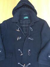Ralph Lauren Mens XL-XXL 58in Thick Wool Hooded Duffle Coat Excellent Vintage