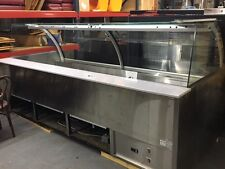 Rpi Industries Model Scxmd96R-Rr Refrigerated Curved Glass Display