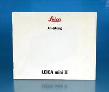 Leica Mini II istruzioni German manual - (25974)