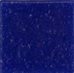 DARK BLUE Vitreous Glass Mosaic Tiles - 100 Tiles  - 3/8 inch