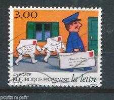 FRANCE - 1997 - Timbre 3063, la Lettre, oblitéré