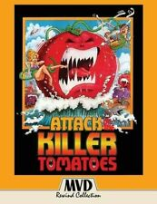 Attack of The Killer Tomatoes Blu-ray 4k Remastered All Regions Post