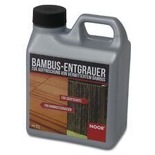 NOOR® Bambusschutz Pflege Öl 1L Bambus Refresher Entgrau