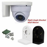 L Type Plastic Right Angle Bracket Wall Mount for CCTV Dome IP Security Camera