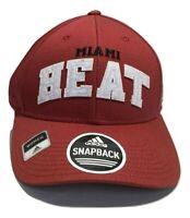 NBA Miami Heat Women's Structured Adjustable Hat Cap -