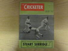 September 1952, THE CRICKETER, Billie Griffith, Stuart Surridge, Reg Stevens.