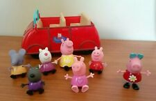 Peppa Pig Talking Car with 7 Character Figurines