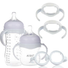 1X Handle Holder For Avent Baby Cups Wide Mouth Feeding Bottle Trainer Easy Grip