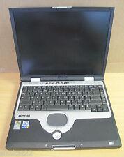 Compaq Evo N1020V ordinateur portable 15 pouces, pas de ram, sans disque dur, pas de batterie, aucun cd de rechange & réparation 60210