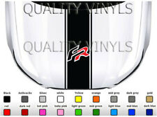 Seat fr bonnet stripe graphics leon ibiza arona mii sport decal stickers BS252