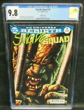 Suicide Squad #5 (2016) Variant Cover Killer Croc CGC 9.8 White Pages GG208