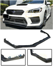 V-LIMITED Style CARBON FIBER Front Bumper Lip Splitter For 18-Up Subaru WRX STi