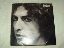 LP 12 inch Record Album - Bob Dylan Hard Rain