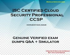 CCSP ISC Certified Cloud Security Professional Practice Exam Q&A + simulator