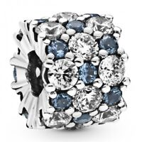 Blue Sparkle All Over PANDORA Charmanhänger 925er Sterlingsilber 798487C02