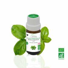Huile Essentielle BIO Basilic Tropical 10ml. ABLabel, Ecocert Bio 100 % Pure.