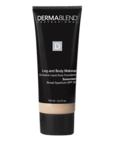 Dermablend Leg & Body Makeup SPF 25 in Fair Nude 0N - 3.4 oz NEW IN BOX