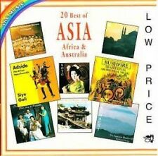 20 Best of Asia, Africa & Australia Adzido, Chalf Hassan, hossam ramzy [CD album]