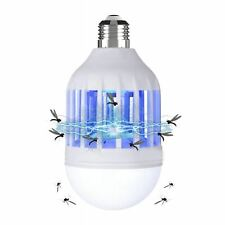 E26/E27 Light Bulb Lamp Insect Mosquito Moth Fly Trap Home UV Bug Zapper Killer