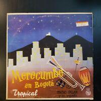"""PACHO GALAN y Su Orquesta """"Merecumbe en Bogota"""" RARE VINYL Record LP"""