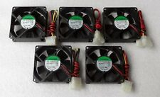 SUNON 80mm X 25mm Server Grade Fan 4 Pin Molex Dual Ball Bearings KD1208PTB1